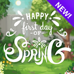 Send this peppy, animated eCard to let friends and family know the snow is gone and flowers and sunshine are on their way. It's the First Day of Spring!
