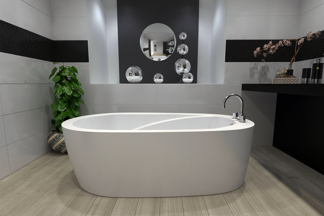 Modern Freestanding Bathtub J 72 Aurora By Jetta Corporation. Visit Our  Website For More Sizes And Styles! Www.jettacorp.com