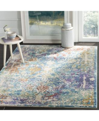 Safavieh Sutton Turquoise And Lavender 5 X 7 Area Rug Reviews