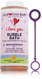 California Baby I Love You Aromatherapy Bubble Bath Bubble Bath Oil Bubbles California Baby