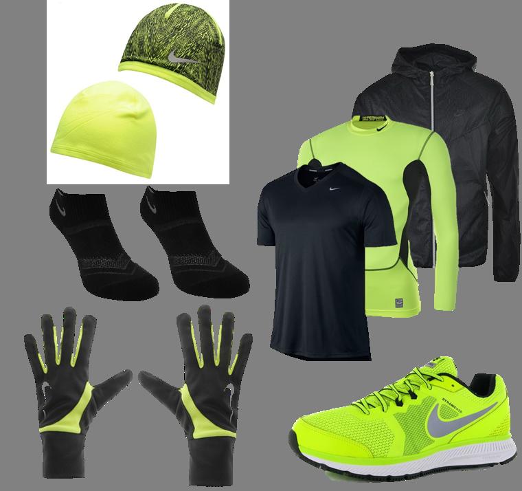 Winter Running Nike Men's winter running gear http