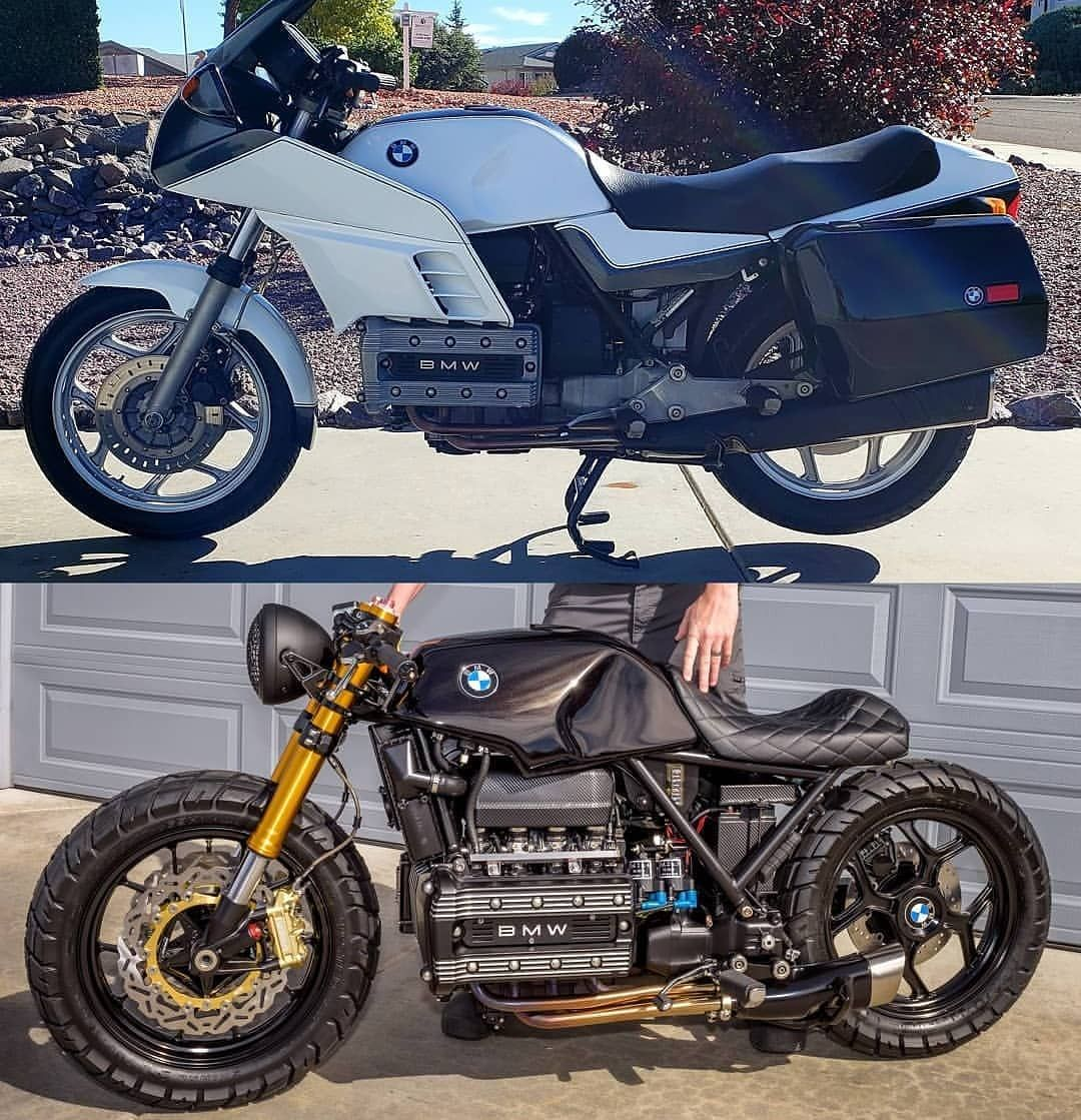 Bmw K100 Transformation By Ditstang Follow Me