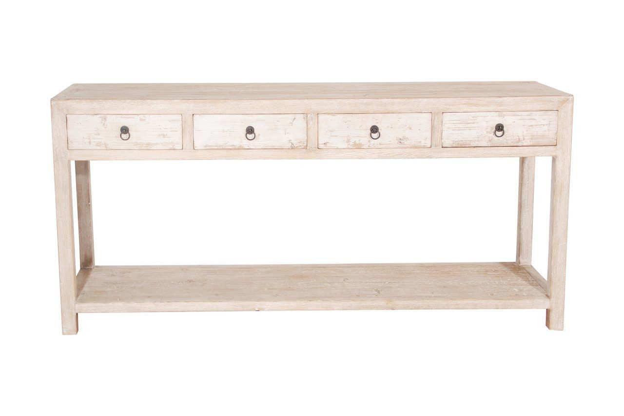 Reclaimed Wood Antique White Console Table White Console Table Reclaimed Wood Console Table