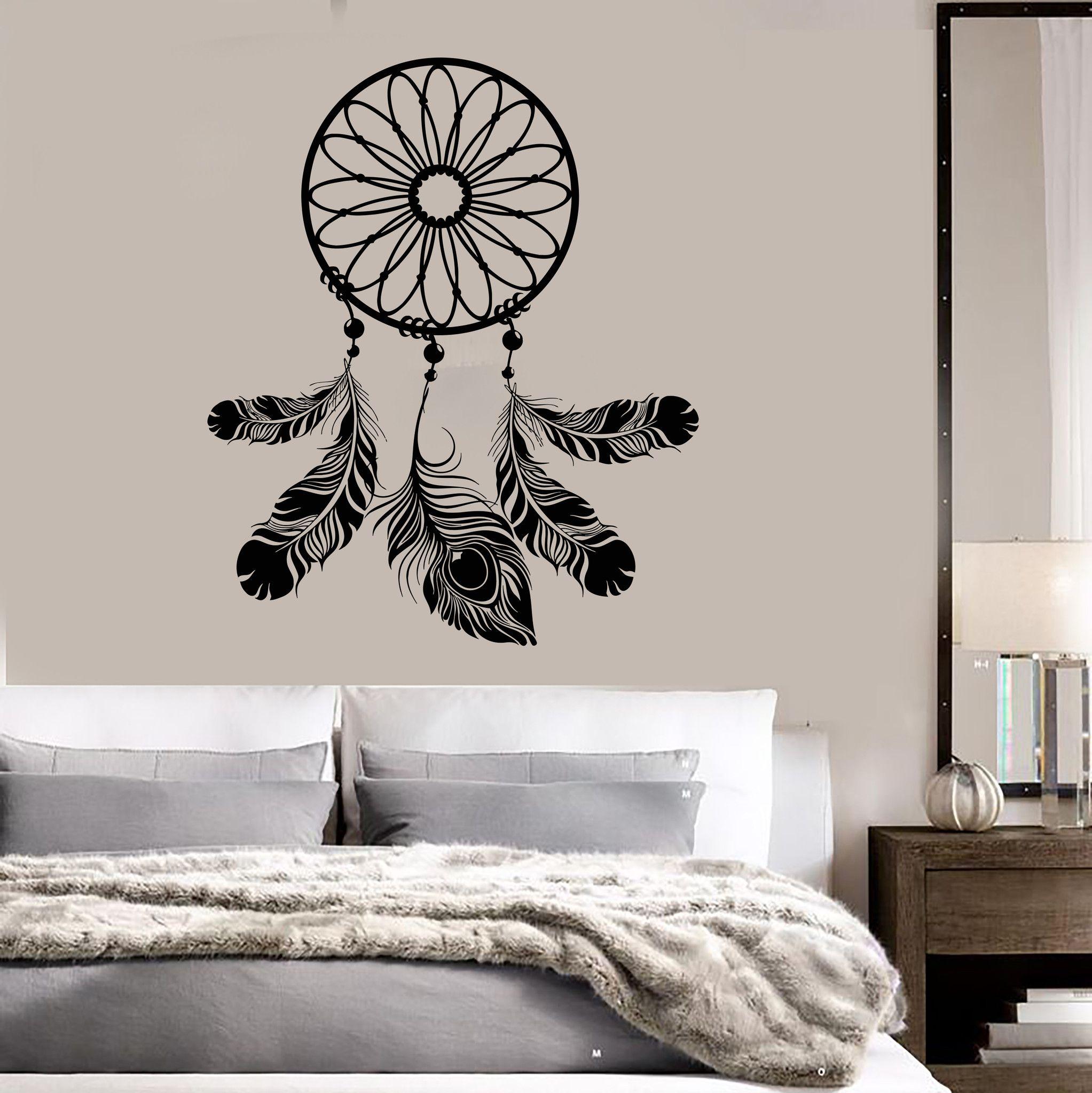 Dreamcatcher Bedroom Decor Talisman Art Dream Catcher Wall Vinyl
