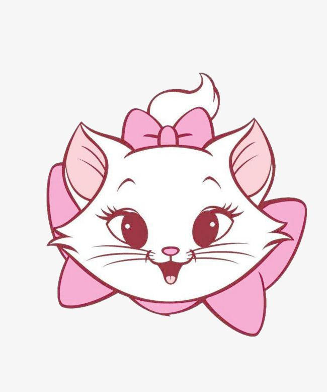 Cute White Cat Png And Clipart Disney Cats Disney Drawings Marie Aristocats