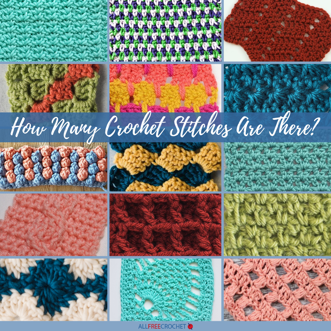 How Many Crochet Stitches Are There Crochet Stitches Tutorial Crochet Stitches Crochet Stitches Guide