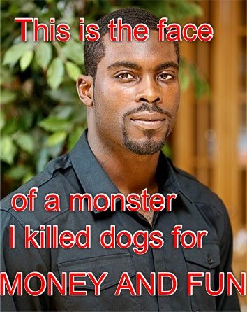 I got bored and want to show my hate for Michael Vick