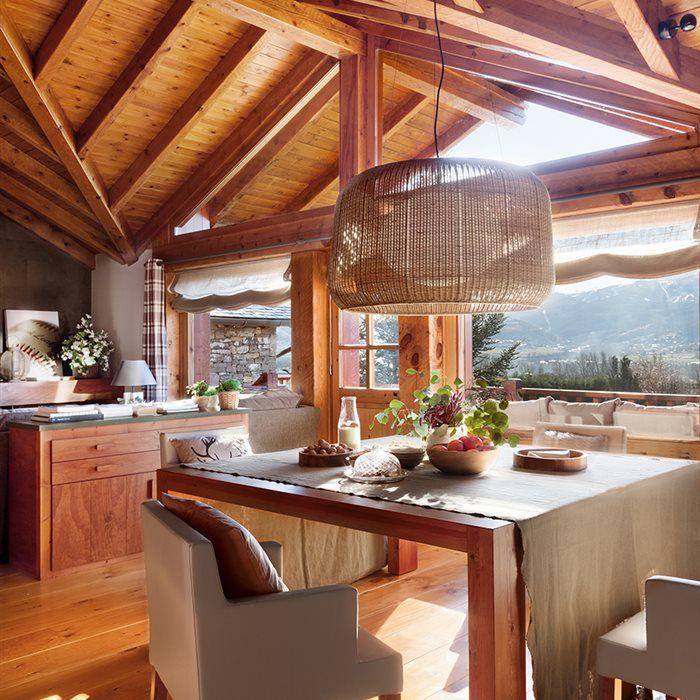 De madera por dentro y por fuera en 2018 habitacion for Decoraciones de casas por dentro