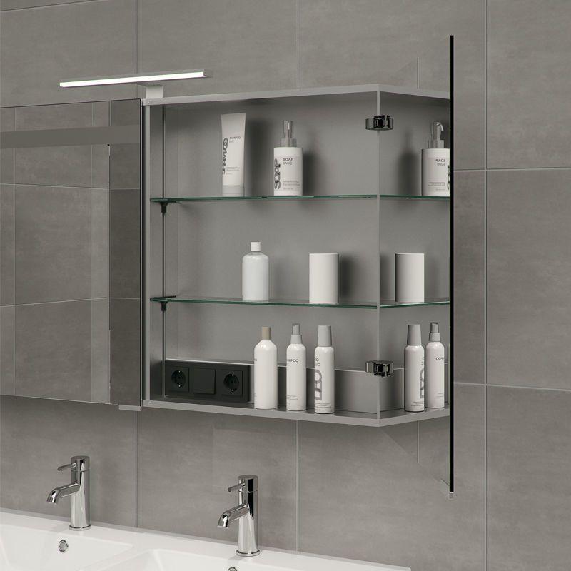 Spiegelkastje 3 Deurs.Spiegelkast 3 Deurs Bathroom Deuren Badkamer Opbergruimte