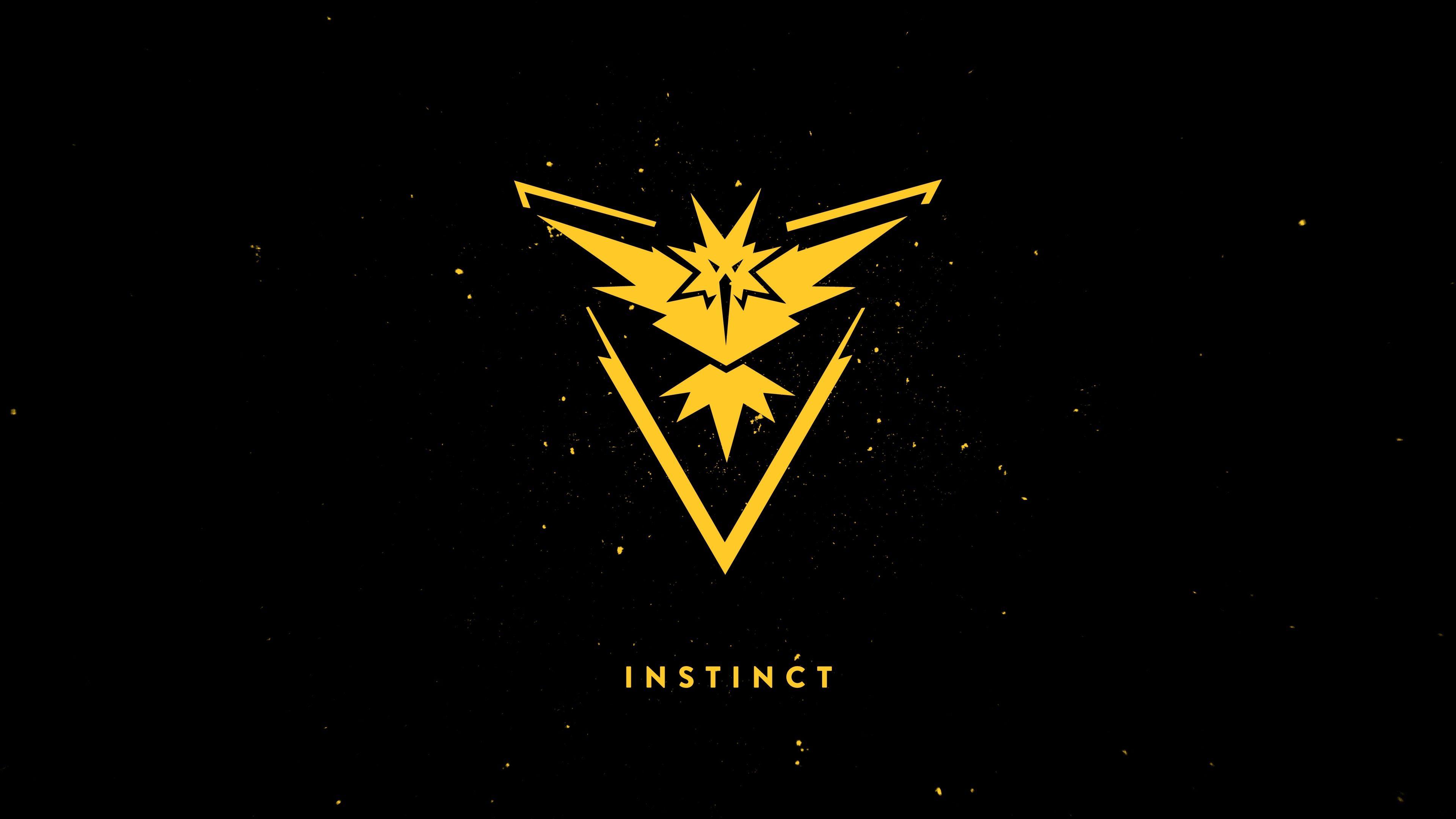 3840x2160 Team Instinct 4k New Hd Pc Wallpaper Dark Background Wallpaper Team Instinct Instinct
