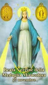 Risultati immagini per immagine della preghiera della Madonna della Medaglia Miracolosa