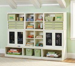 Kidsu0027 Wall Storage Solutions U0026 Kidsu0027 Cubby Storage | Pottery Barn Kids