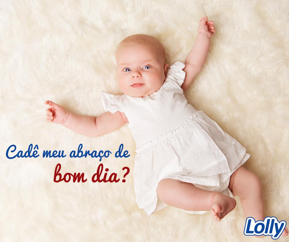 Vem cá! Quero te dar um abraço! Pronto, agora tenha um bom dia! Emoticon smile #Lolly #BomDia #Abraço