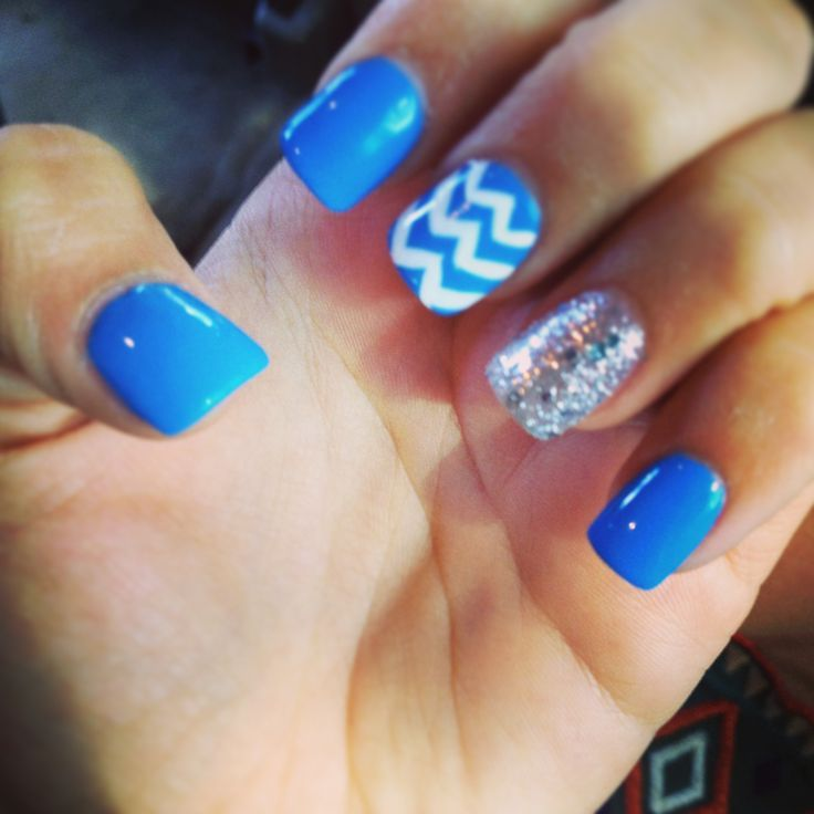 Cute Blue Nail Designs | Graham Reid