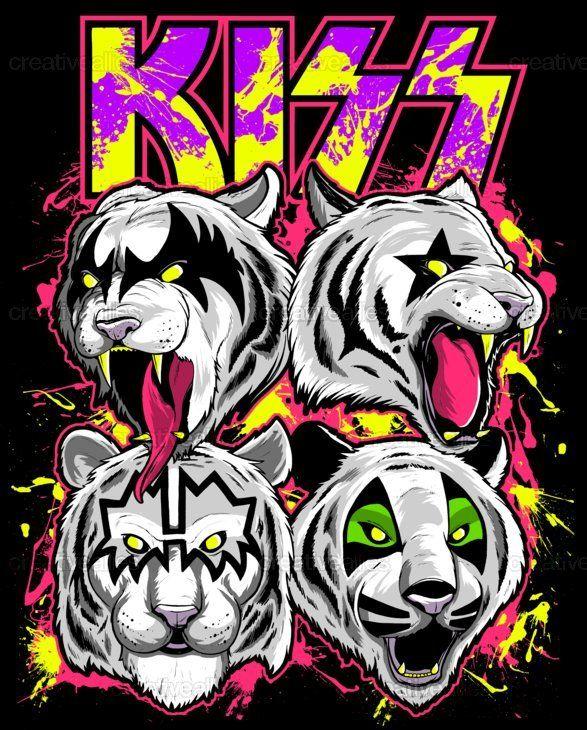 Kiss Clothing By Mark Kosobucki On Creativeallies Com Kiss