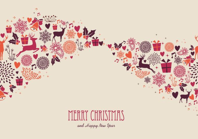 Merry christmas greeting card template cards pinterest merry christmas greeting card template m4hsunfo