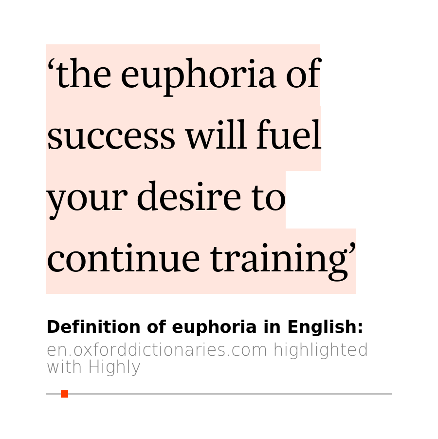 Yijunu0027s 1 Highlight (4s Read) In Euphoria   Definition Of Euphoria In  English |