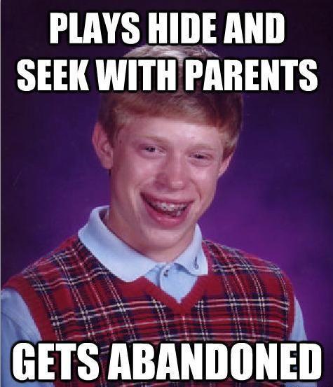 25 Best Memes About Gary Webb: The 50 Funniest Bad Luck Brian Memes19. Abandoned