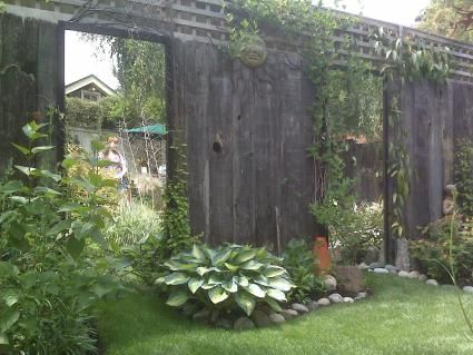 I want mirrors along the fence in my garden to reflect for Outdoor mirror ideas