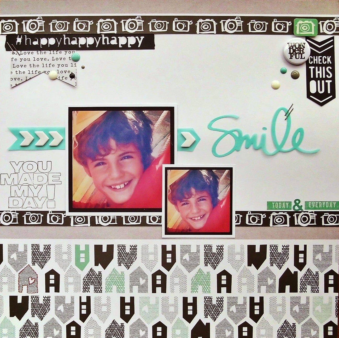 Briciole di Scrapbooking: Smile