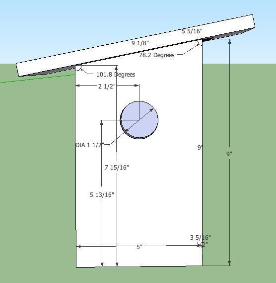 Image result for goldfinch birdhouse plans | birdhouse | Pinterest ...