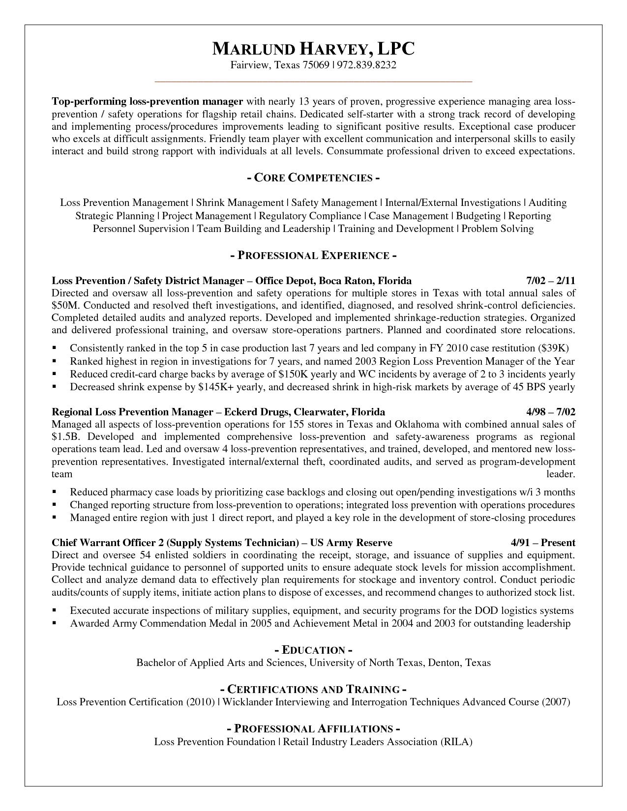 Scope Of Work Template Job Resume Template Resume Sample Resume