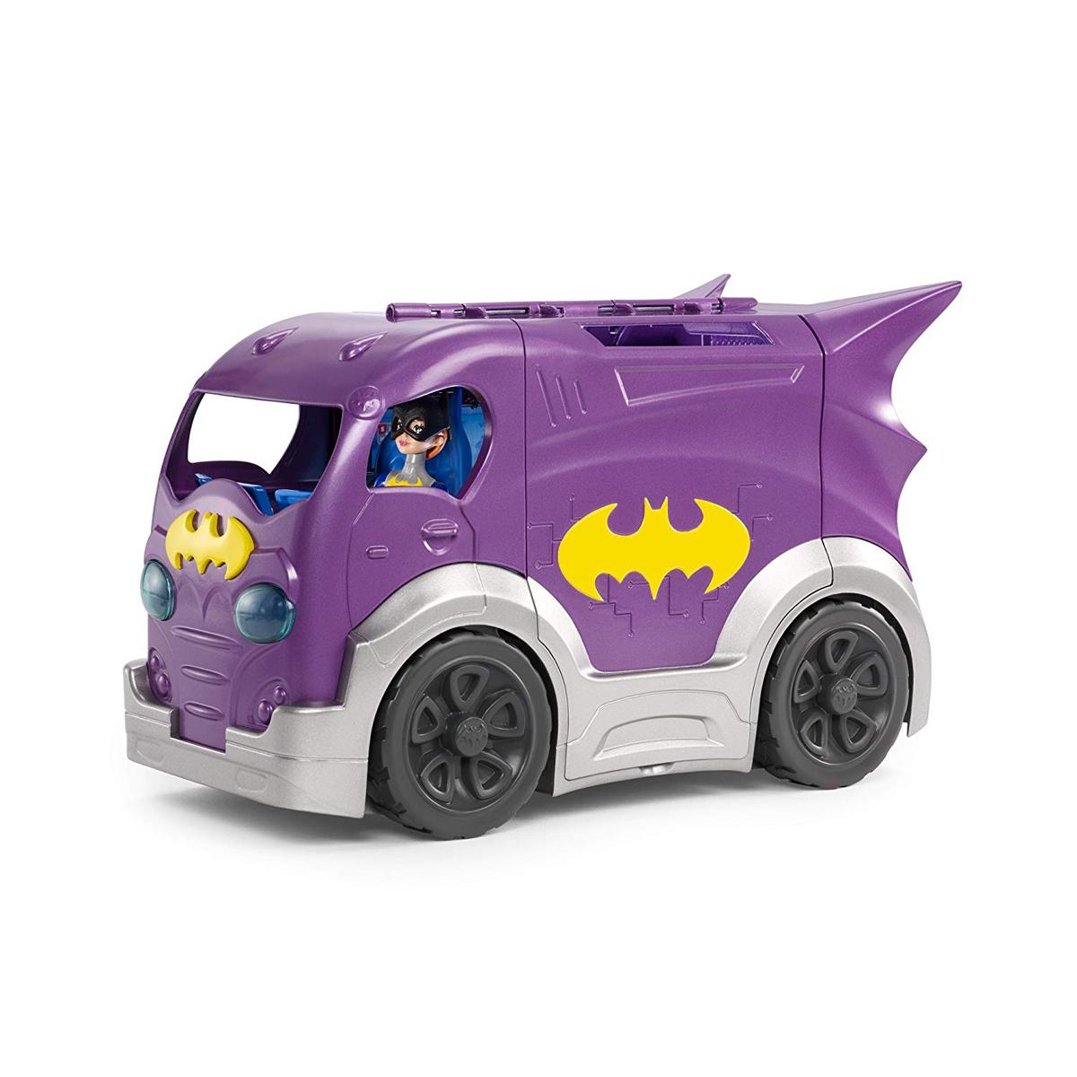 DC Super Hero Girls Batgirl /& Vehicle Playset
