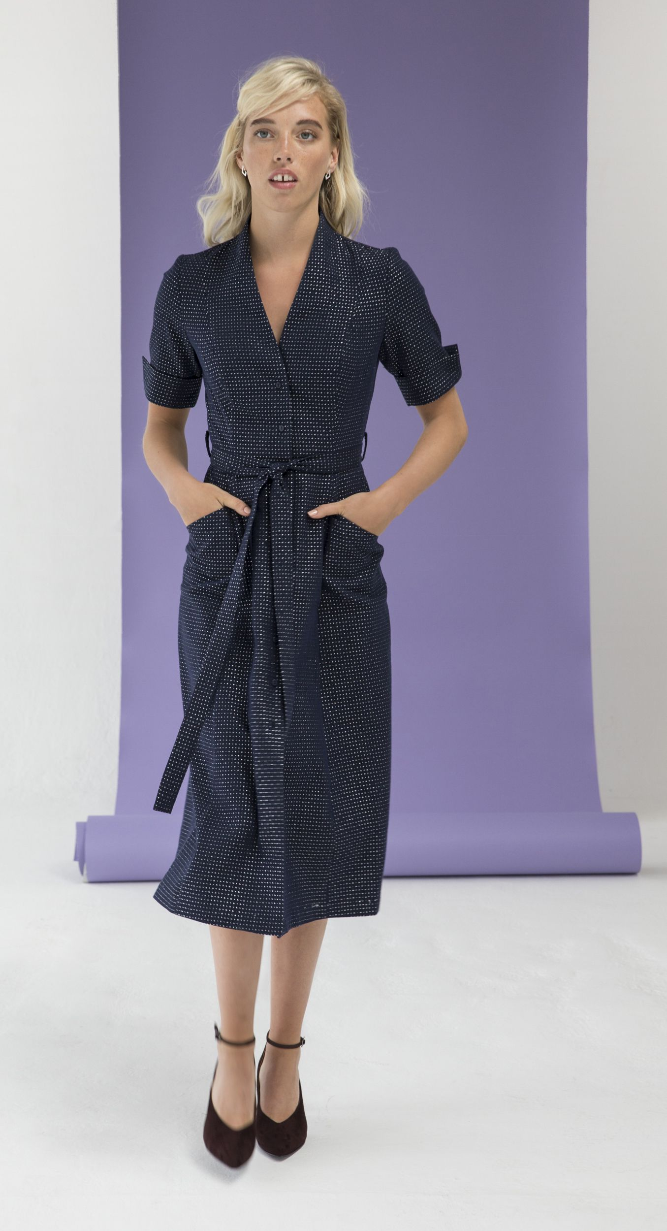 captivate the evening in this jazz textured coat dress dressss