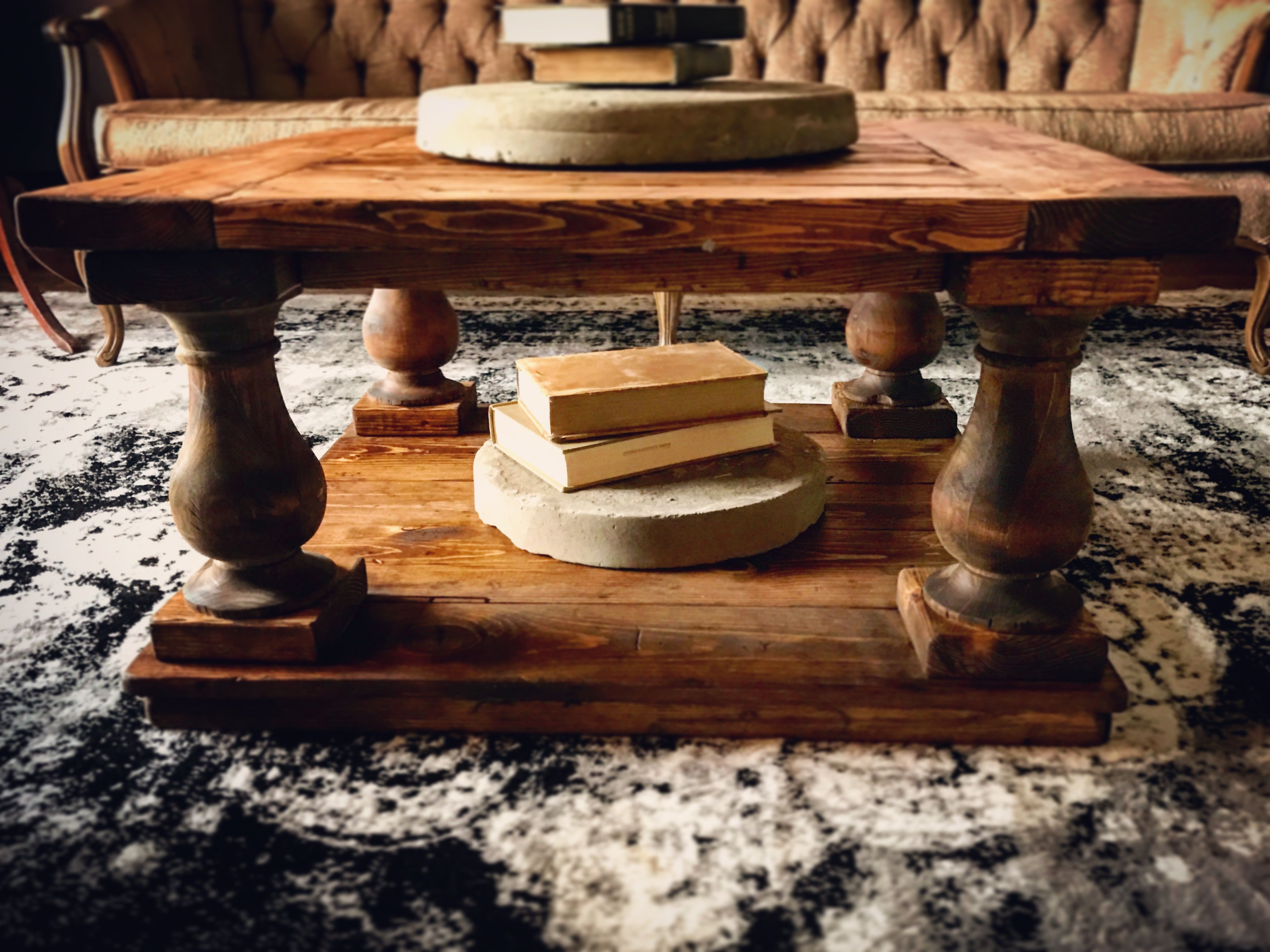 Diy coffee table made with osborne wood products