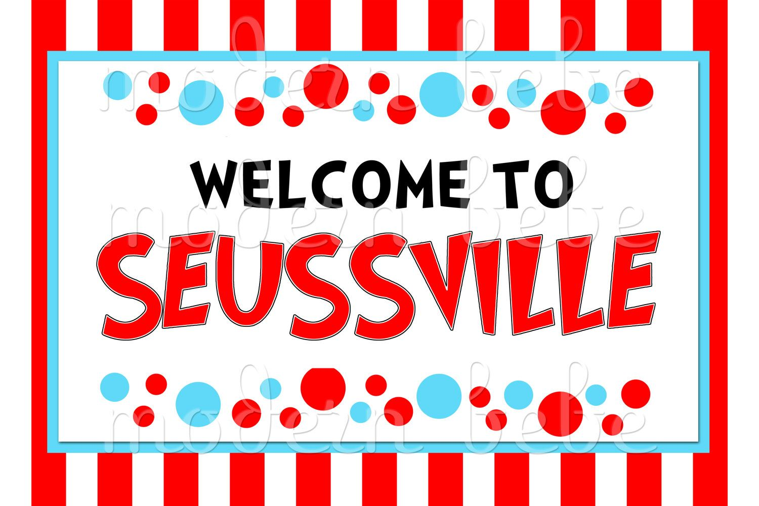 Welcome To Seussville Might Have To Add Mayor Harlan