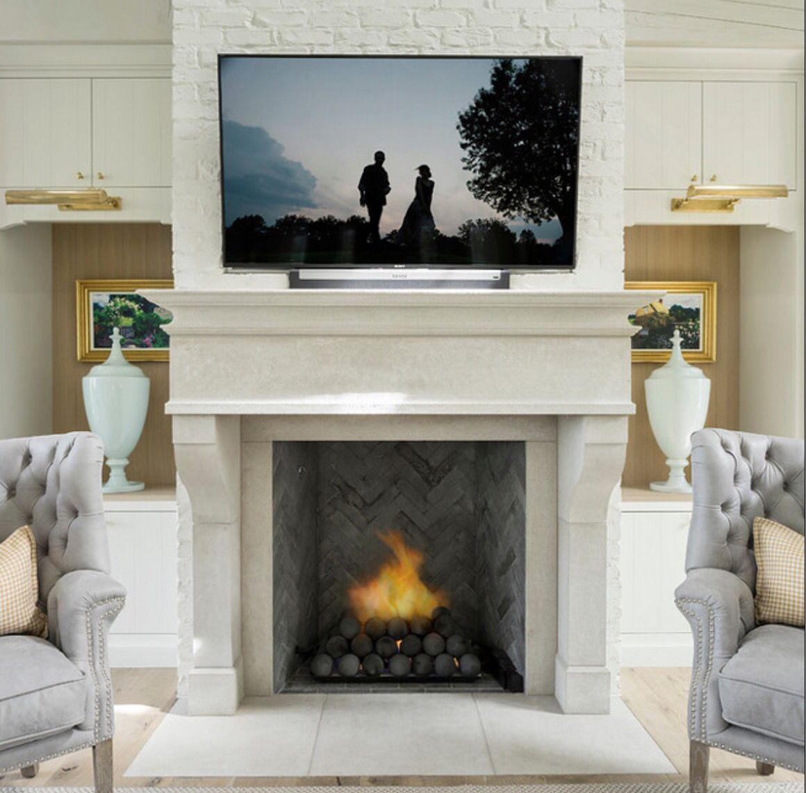 Fireplace living room pinterest living rooms and room