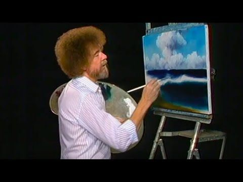 Bob Ross - Waves of Wonder (Season 15 Episode 6) #landscapingtips