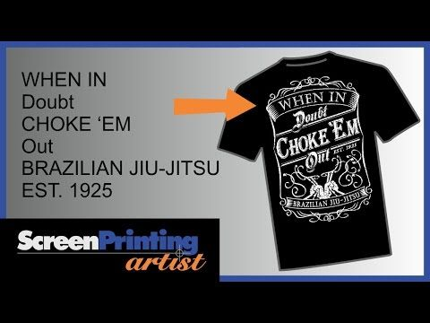 3ce76f7a5 CorelDRAW tutorial on how to create a vintage t-shirt design - YouTube