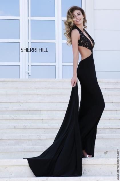 Sexy Fitted Aqua Sherri Hill Dress 32177