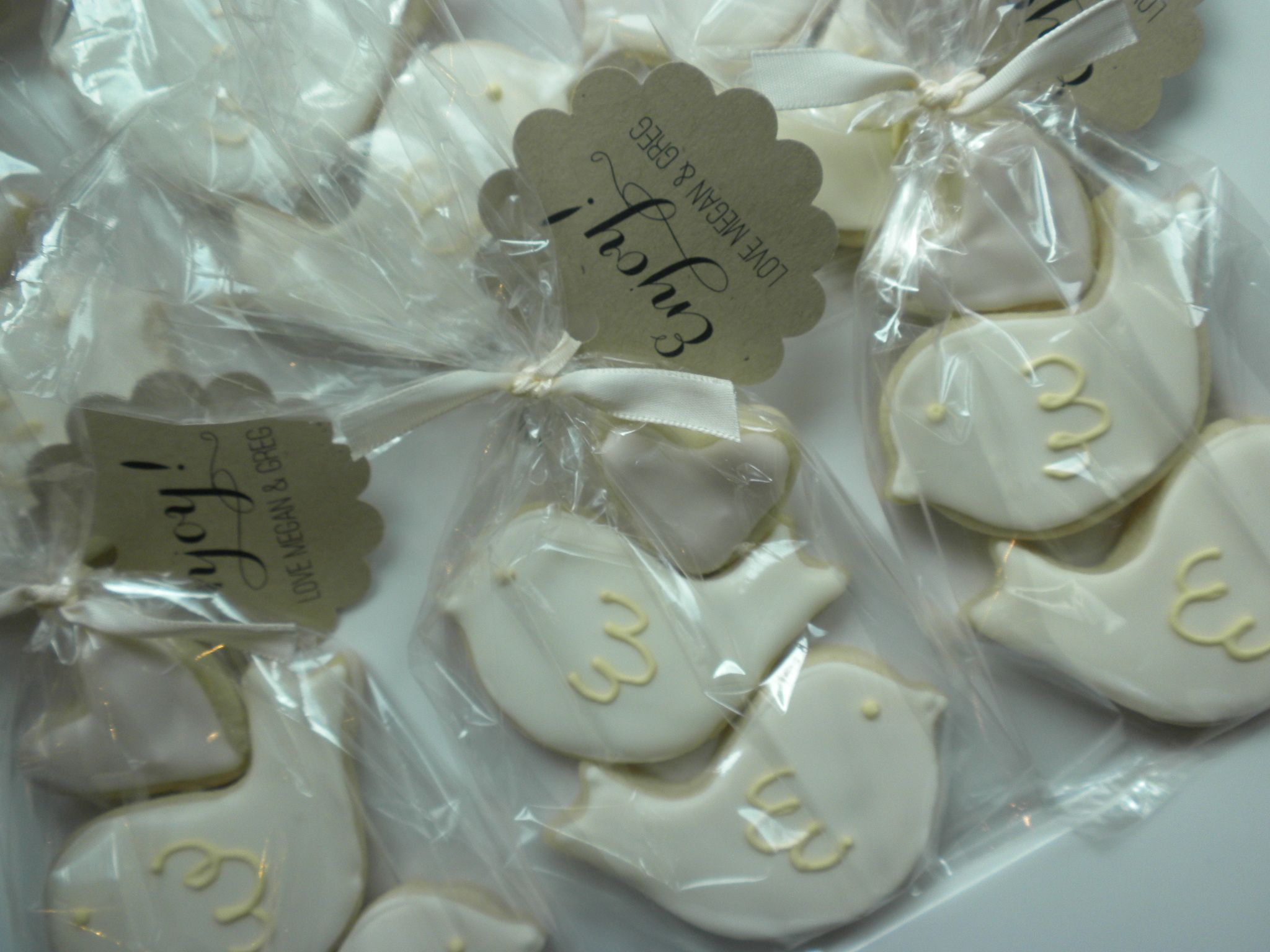 Lovebird Cookie Wedding Favours Christina Wedding Pinterest