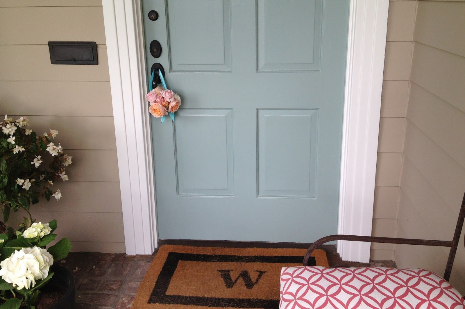 Stratton Blue By Benjamin Moore For Inside Of Front Door