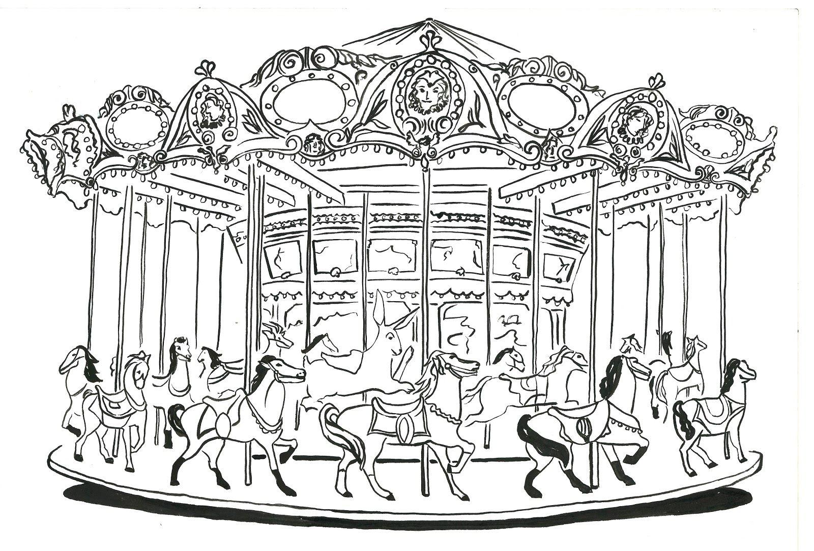 An Illustrated Carousel Atlar Yat