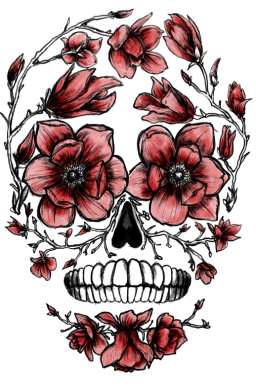Pin by Eshika_Dongre on Wallpapers Skull painting, Sugar