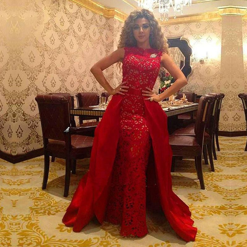 Find More Prom Dresses Information about Custom Made Mermaid Custom Red Party Dresses vestidos de festa Robe de soiree Cheap Lace Long Prom Dresses With Detachable Skirt,High Quality dresse,China dress patty Suppliers, Cheap dress me prom dresses from Kaka Dresses on Aliexpress.com