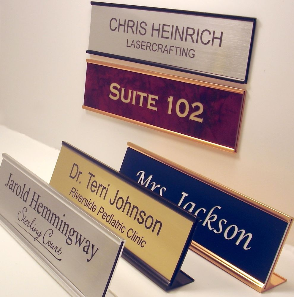 desk engraved nameplates custom com for plates name voicesofimani