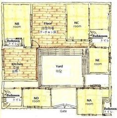 Popular 26 Korean Traditional House Plans