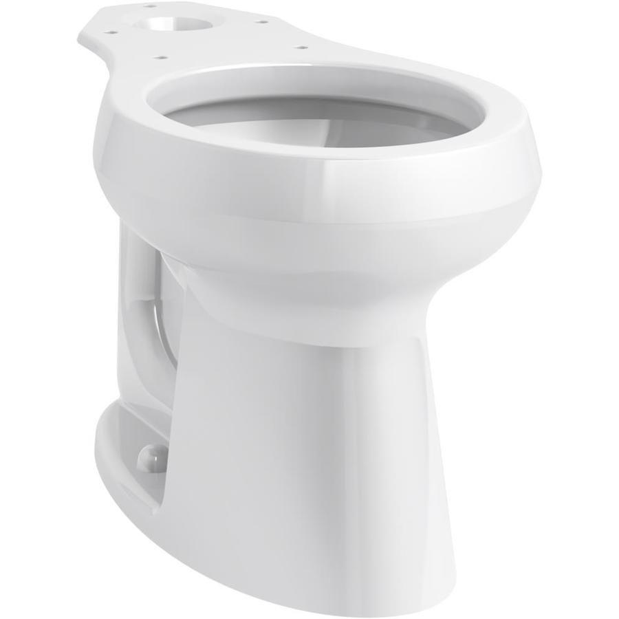 Kohler Highline White Round Chair Height Toilet Bowl K 5393 0