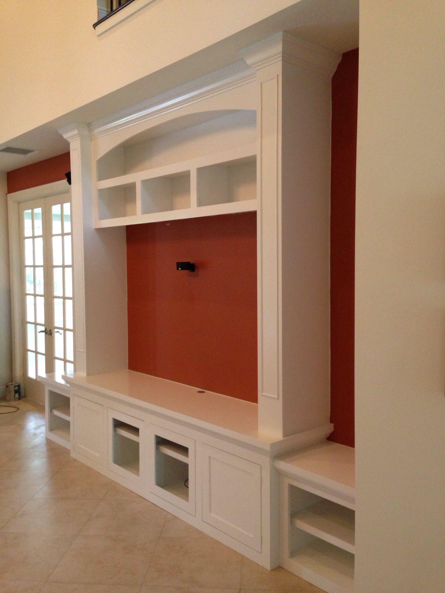 Latest Tv Unit Design: Entertainment Center, Built-in