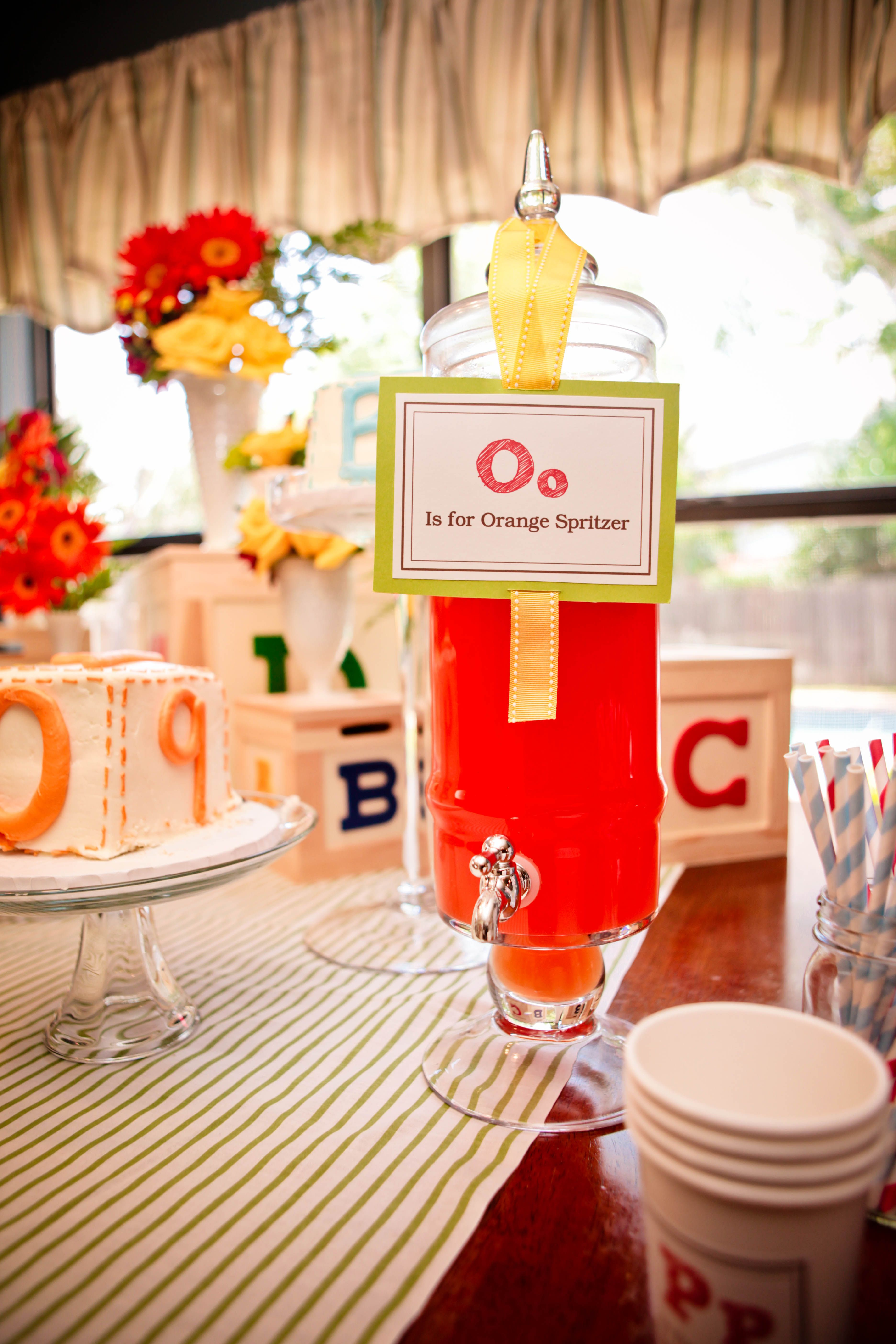 ABC Theme Baby Shower www.experiencespecialist.com | ee baby shower ...