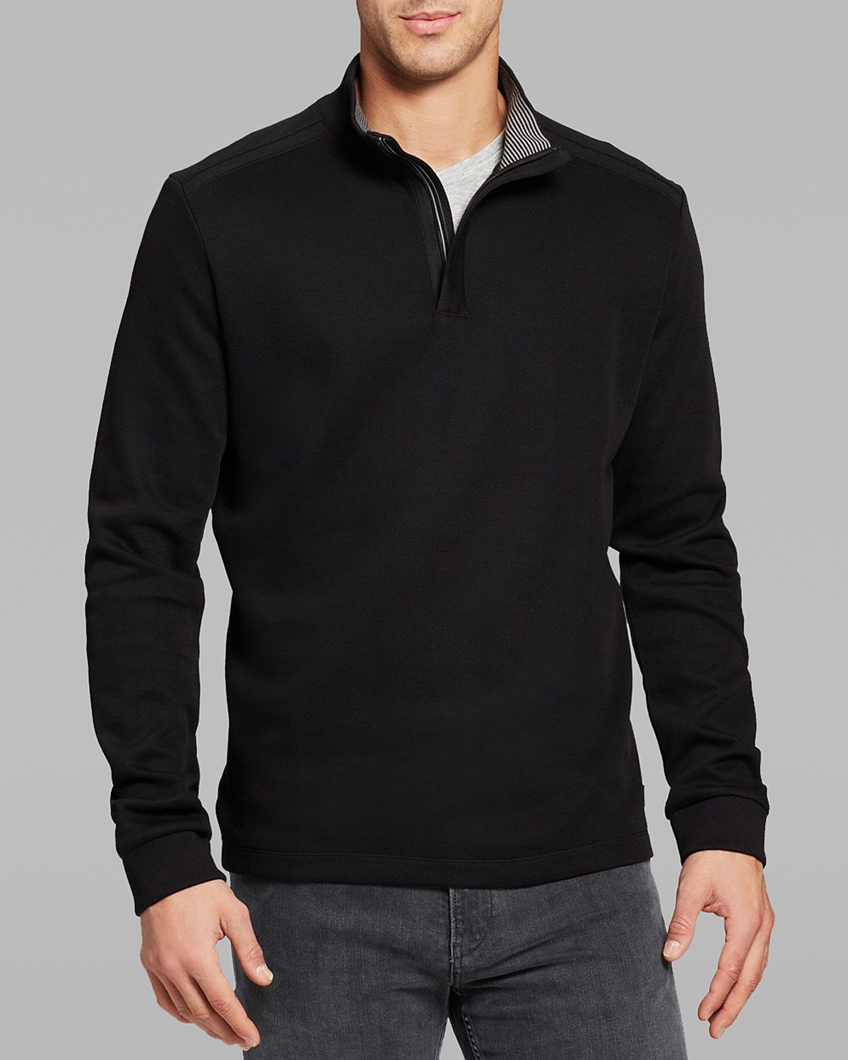 BOSS HUGO BOSS Piceno Quarter Zip Sweater | Bloomingdale's | Boss ...