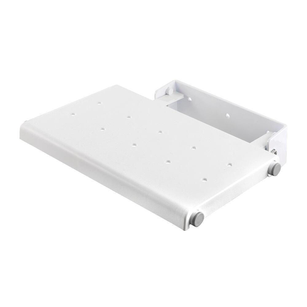 Croydex Wall Mounted Fold Away Shower Seat In White Ap230022yw