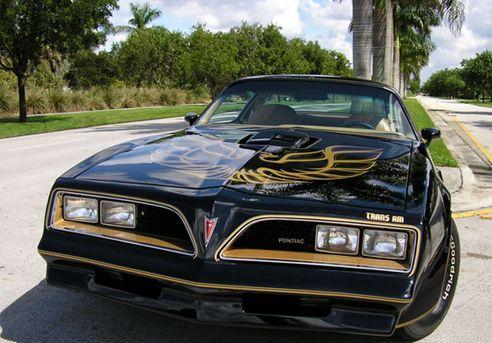 smokey and the bandit car logo