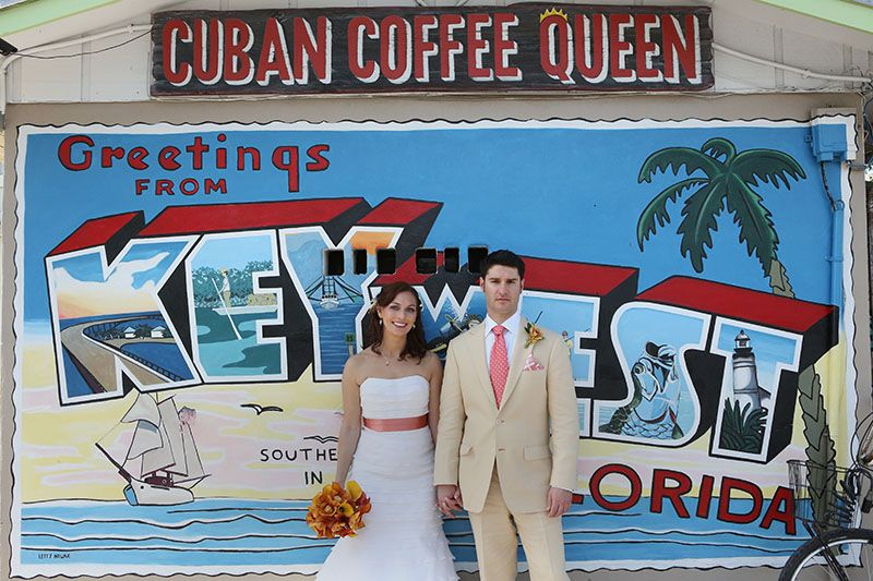 Joy and Augusto in Key West