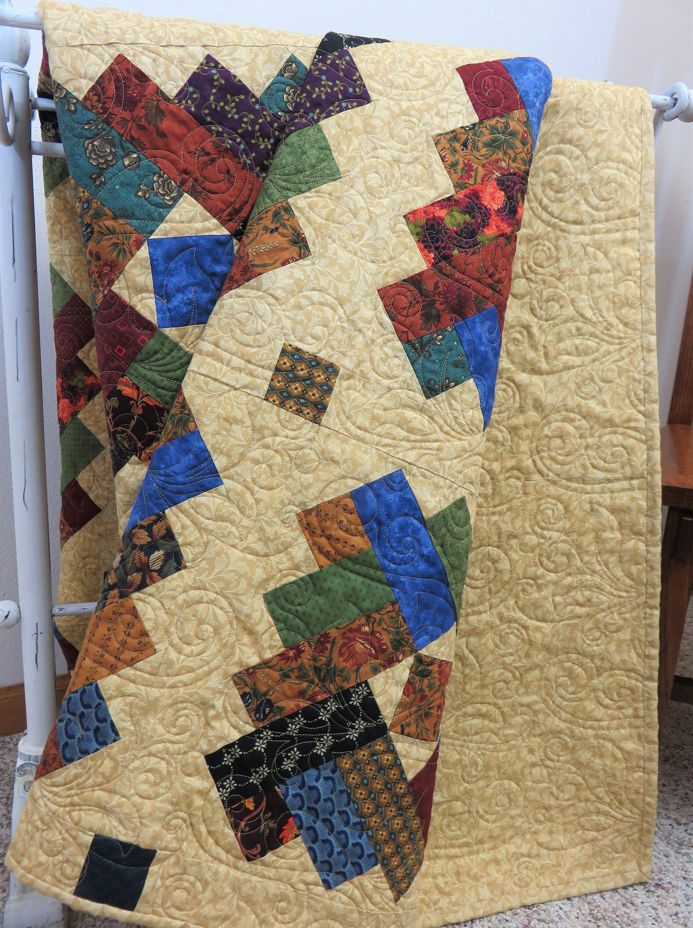 Handmade Quilt For Sale Full Size Quilt Double Southwest Etsy Handmade Quilts For Sale Handmade Quilts Quilts