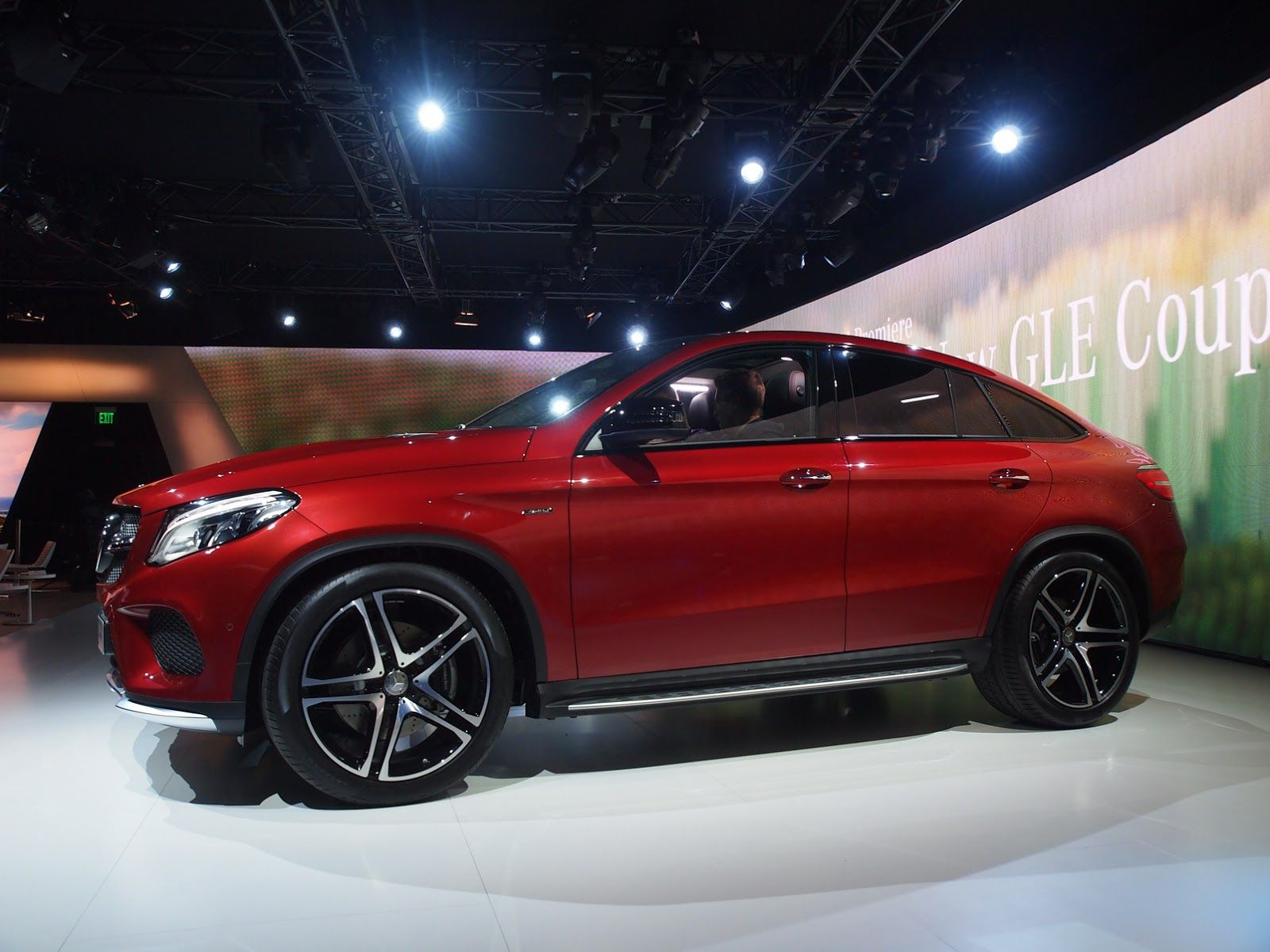 New Mercedes Gle 450 Amg Coupe Lands In Detroit With Twin Turbo V6